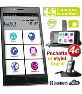 smartphone pour personne agee 5 pouces