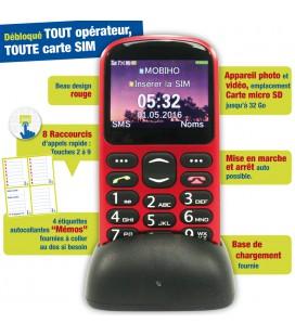 telephone senior base chargement