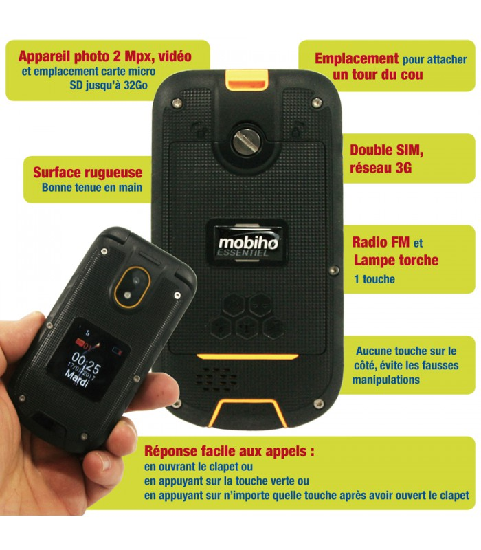 telephone portable senior antichoc 3G  telephone portable senior antichoc  double Sim ... 1a7273312c6