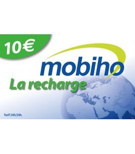 RECHARGE MOBIHO 10€