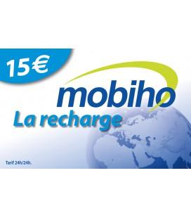 RECHARGE 15 EUROS