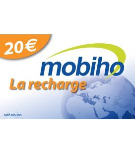 RECHARGE MOBIHO 20€