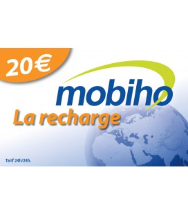 RECHARGE 20 EUROS
