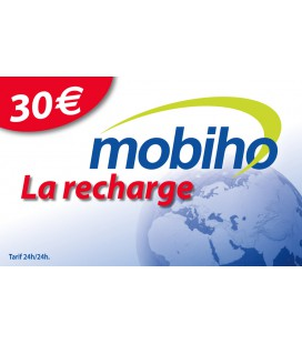 RECHARGE 30 EUROS