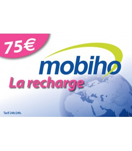 RECHARGE 75 EUROS