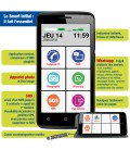 Smartphone simple pour senior sos
