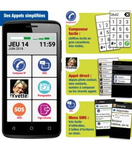 smartphone senior et composeur facile