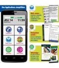 Smartphone toute utilisation applis simplifiees