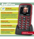 mobile grosse touche solution audition