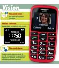 Mobile senior pour handicap vision