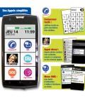 Smartphone simple pour senior facile