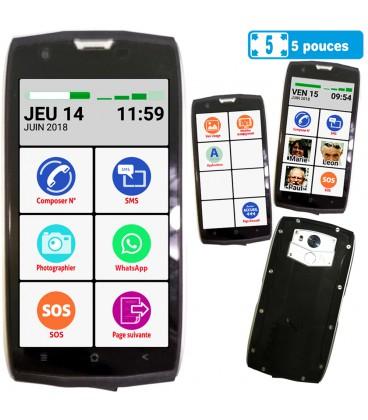 Smartphone solide simple senior ip68