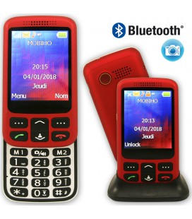 telephone senior coulissant complet bluetooth