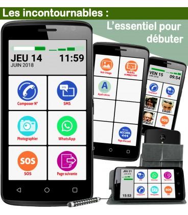 smartphone senior facile avec l'essentiel