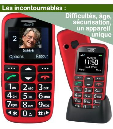 mobile grosse touche utilisation senior
