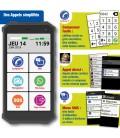 Smartphone simple facile pour senior