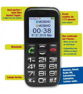mobile pour senior simple