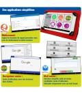 tablette senior 7 pouces facile d'utilisation