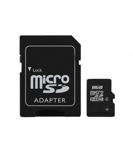 Carte stockage Micro SD 8 giga
