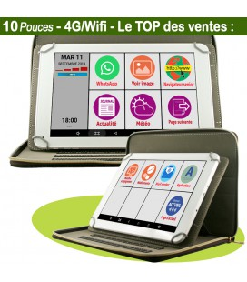 tablette personne agee debutant