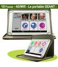 tablette senior 10 pouces avec pochette