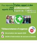 Téléassistance d'urgence 24h/24