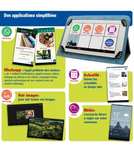 tablette senior appli sur mesure