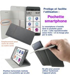 Pochette smart 5 pouces