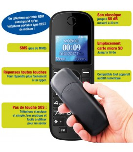 portable personne agee immense DECT