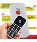 portable pour senior touche SOS