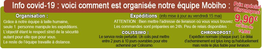 Covid-19 cornavirus info livraison telephone senior