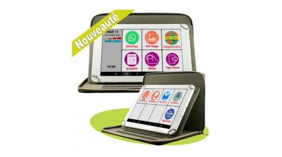 La tablette adaptée pour les seniors pour faciliter la vie de tous les jours.