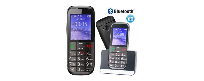 Telephone portable senior Bazile et Mobiho : Quel est le meilleur choix de mobile pour les seniors ?