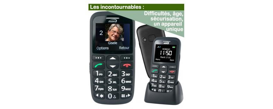 Telephone senior Geemarc et le modèle ultra simple de Mobiho : Choisir un modèle en fonction de votre personnalité.