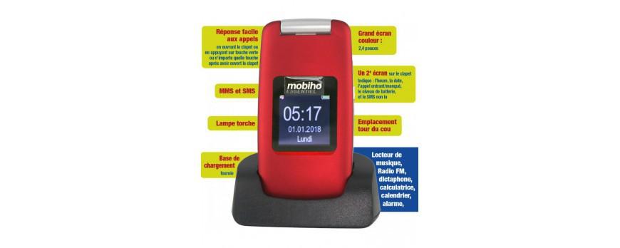 Telephone pour senior Bazile ou le mobile ultra simple de Mobiho : Comment faire pour savoir le bon portable ?
