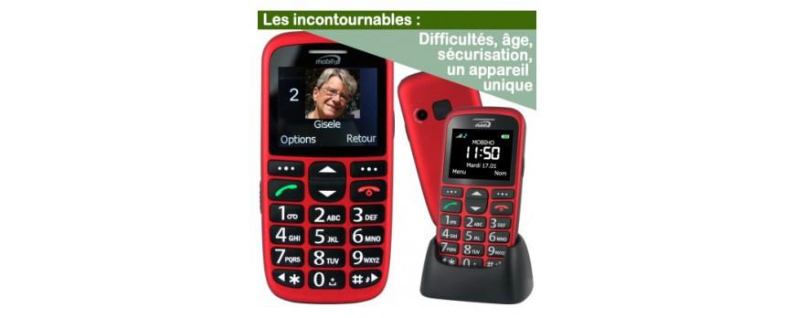 Téléphone portable malvoyant : Quel mobile senior faut-il choisir ?