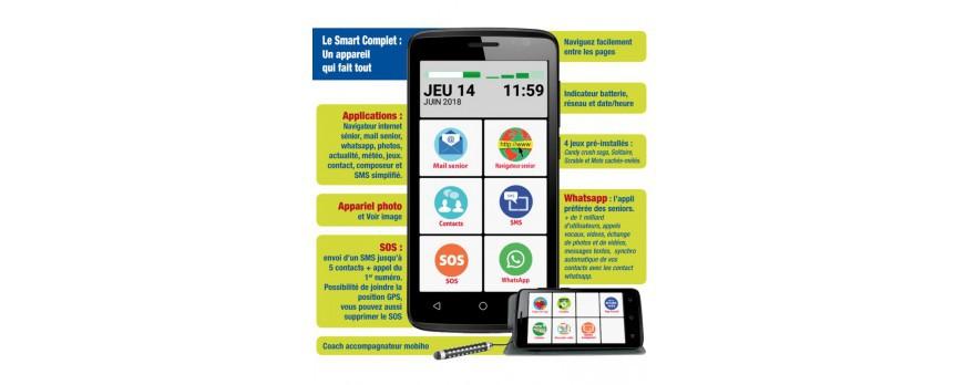 Comment choisir telephone portable simple pour une personne âgée ?
